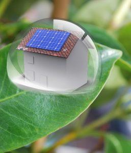 Maison photovoltaique dans Goutte d'eau
